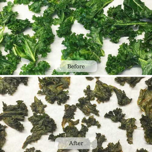 Kale Chips B and A